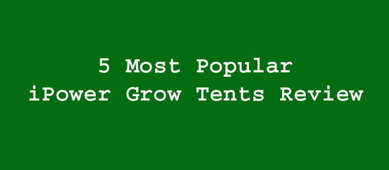 iPower Grow Tents Review