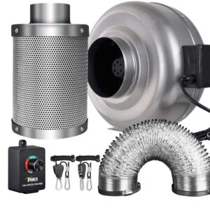 Inline Fan With Carbon Filter