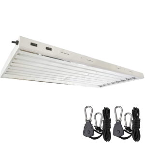 4 ft. 8-Bulb t5 fluorescent grow light fixtures