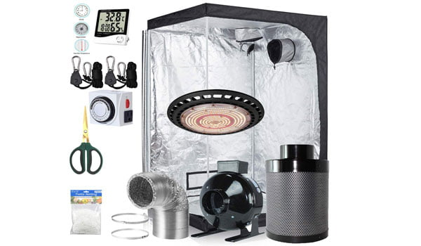 BloomGrow Complete Grow Tent Package