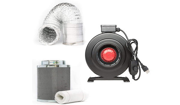 Hydroplanet Air Filter Kits for grow tent