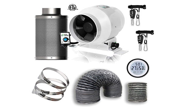 15 Best Carbon Filter for Grow Tent & Kits (4,6,8,10 Inch)