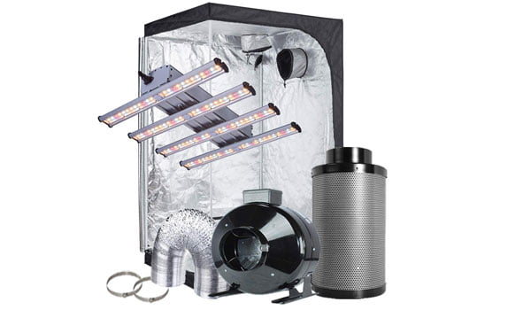 LED grow tent packages
