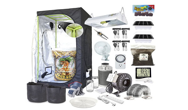 complete Grow Tent Kits For Soil