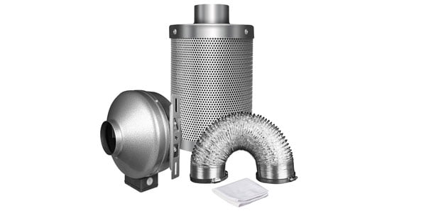 Carbon Filter for 4x4 Grow Tent