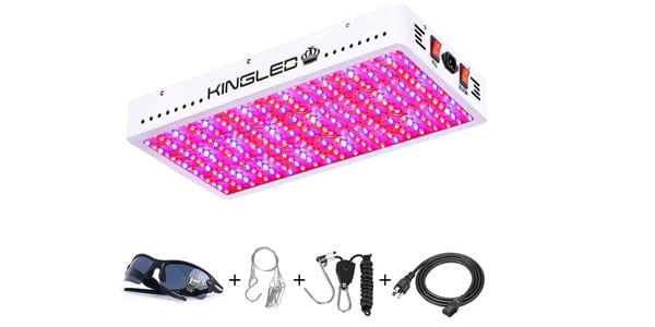 King Plus Full Spectrum LED Grow Light