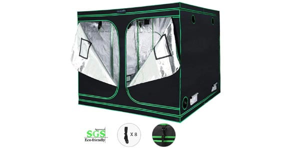 Quictent 96x96x78  Grow Tent