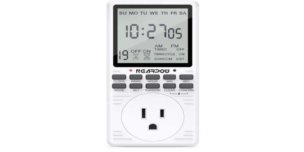 NEARPOW Programmable Timer with Countdown