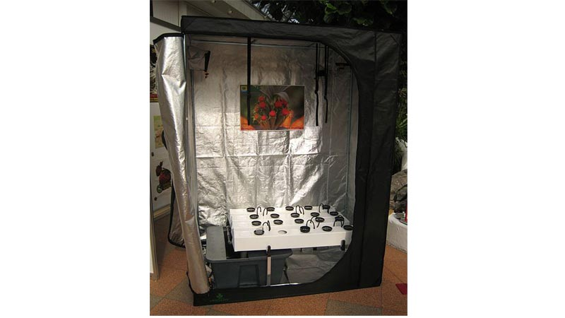 how to build a grow tent