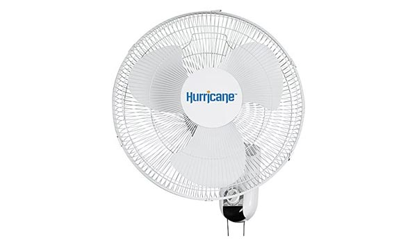Hurricane Wall Mount Oscillation Fan