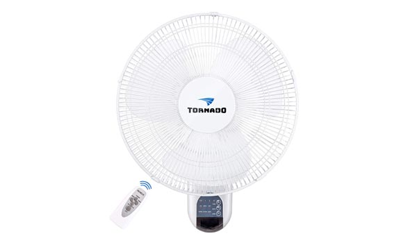 Tornado Remote Control oscillating Fan