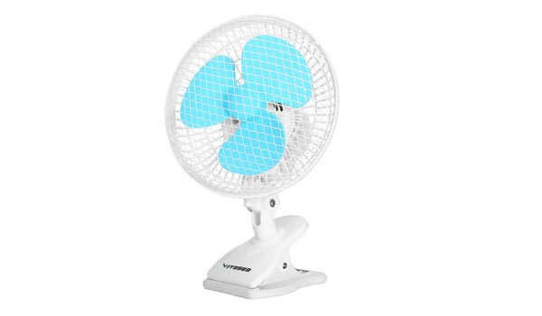 VIVOSUN 6-Inch Portable Clip-On Fan