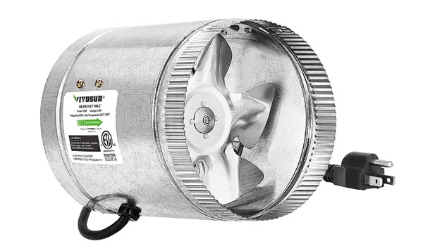 VIVOSUN Exhaust Intake Fan